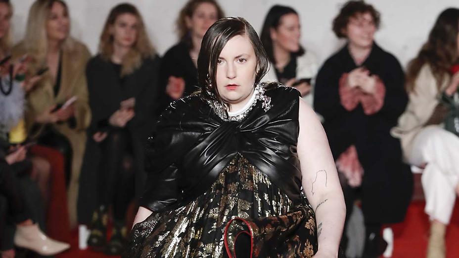 Lena Dunham_London Fashion Week - Getty - H 2020