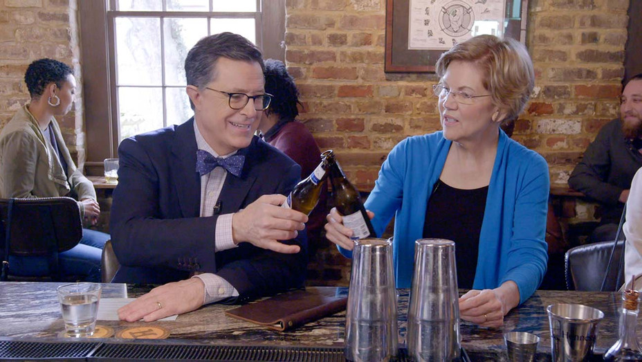 The Late Show with Stephen Colbert and Elizabeth Warren - February 26, 2020 - Publicity -H 2020