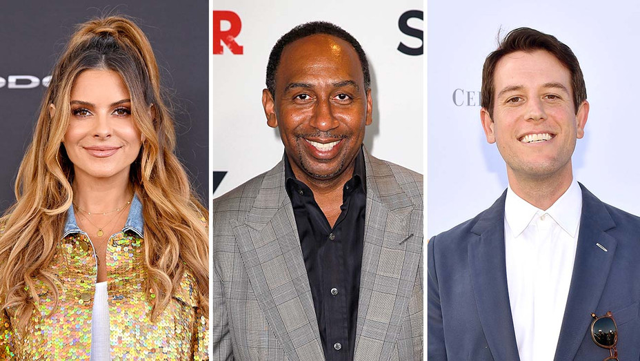 Maria Menounos, Stephen A. Smith and Ben Lyons_Split - Getty - H 2020