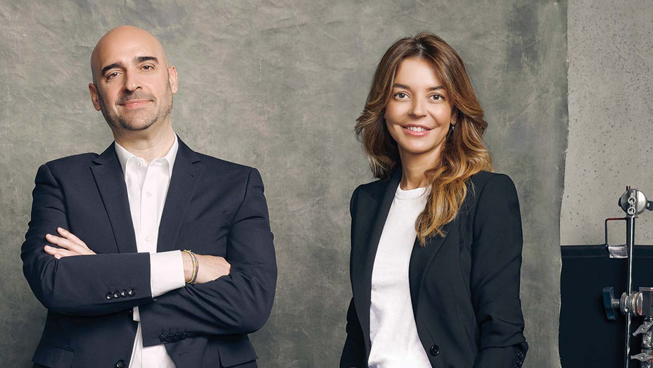 Mediapro Execs Javier Mendez and Laura Fernández Espeso — Publicity — H 2020