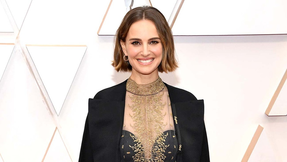 Natalie Portman attends the 92nd Annual Academy Awards - Getty - H 2020