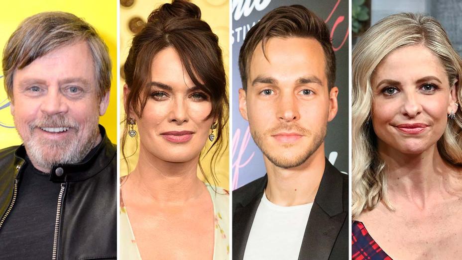 new - Mark Hamill, Lena Headey, Chris Wood and Sarah Michelle Gellar - Getty - Split - H 2020