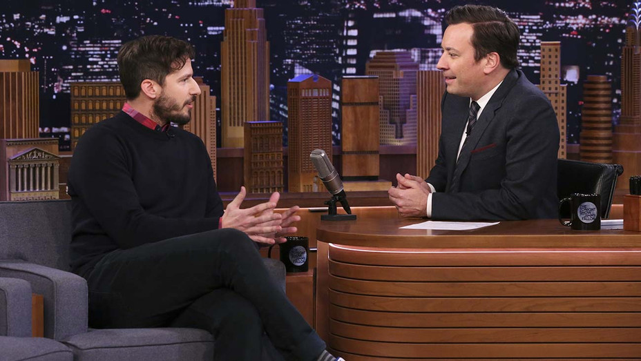 THE TONIGHT SHOW Andy Samberg Jimmy Fallon - Publicity - H 2020