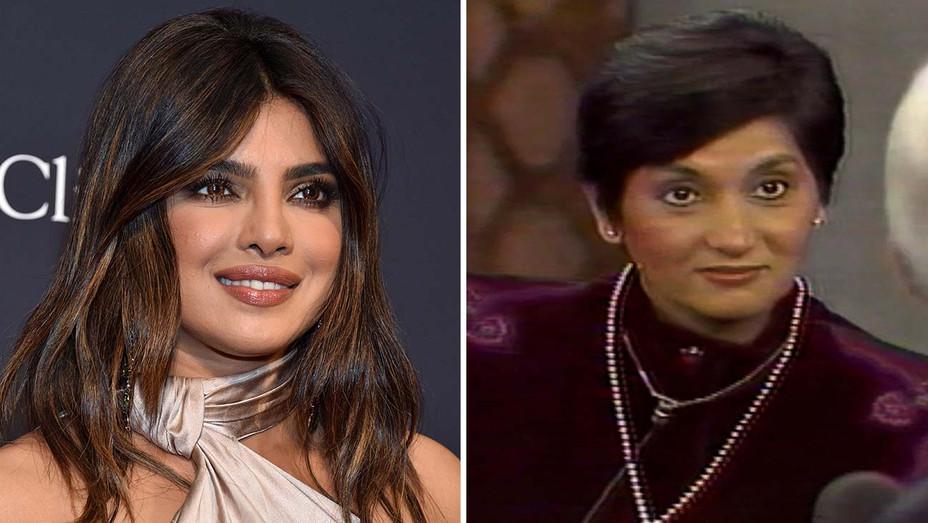 Priyanka Chopra Ma Anand Sheela Split - Getty - H 2020