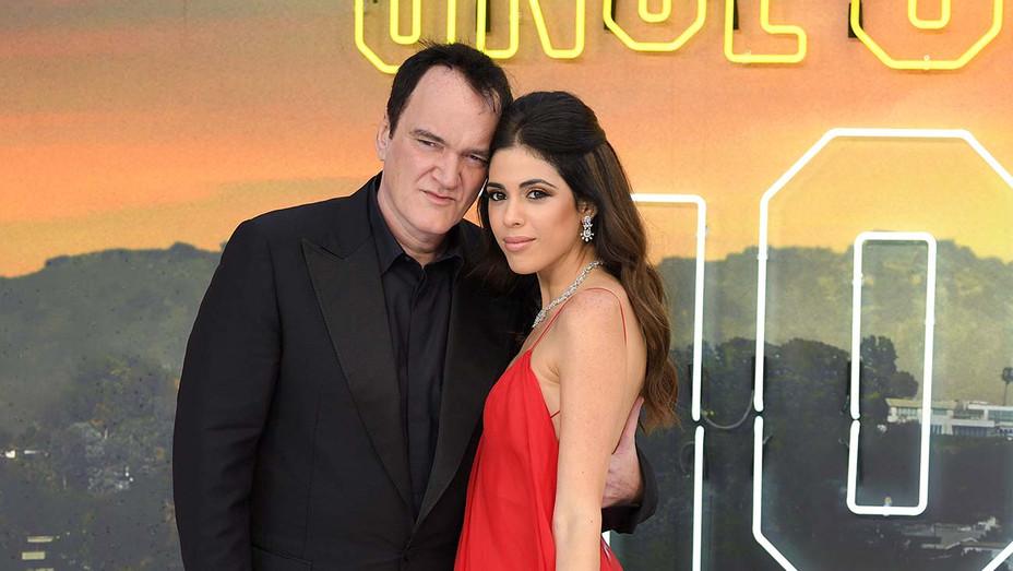 Quentin Tarantino and Daniella Pick - Getty - H - 2020