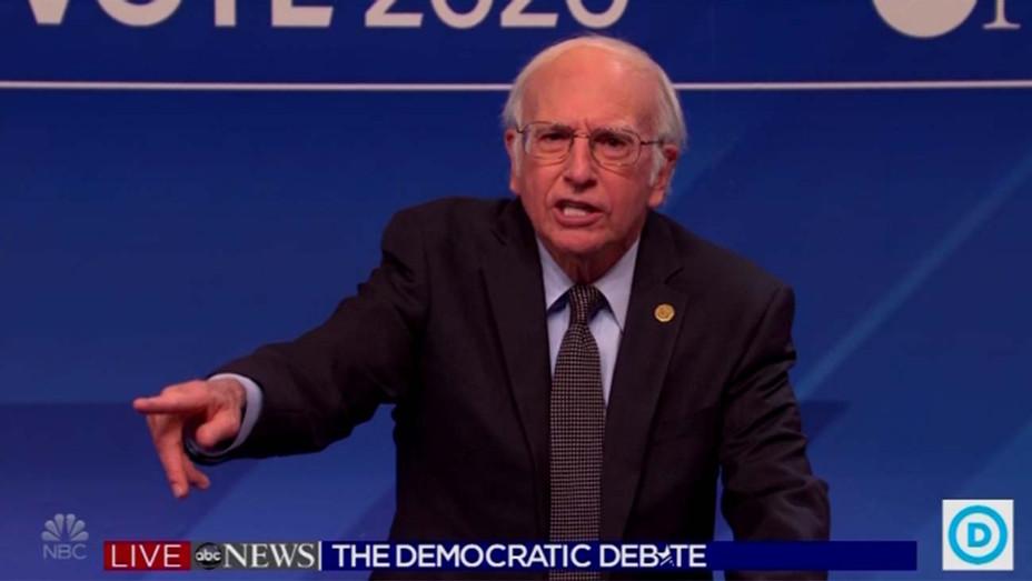 SNL Cold Open Bernie Sanders Larry David 2-8-20 - Screengrab - H 2020