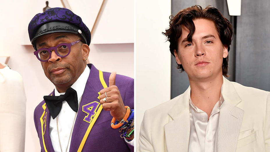 Spike Lee_Cole Sprouse_Split - Getty - H 2020