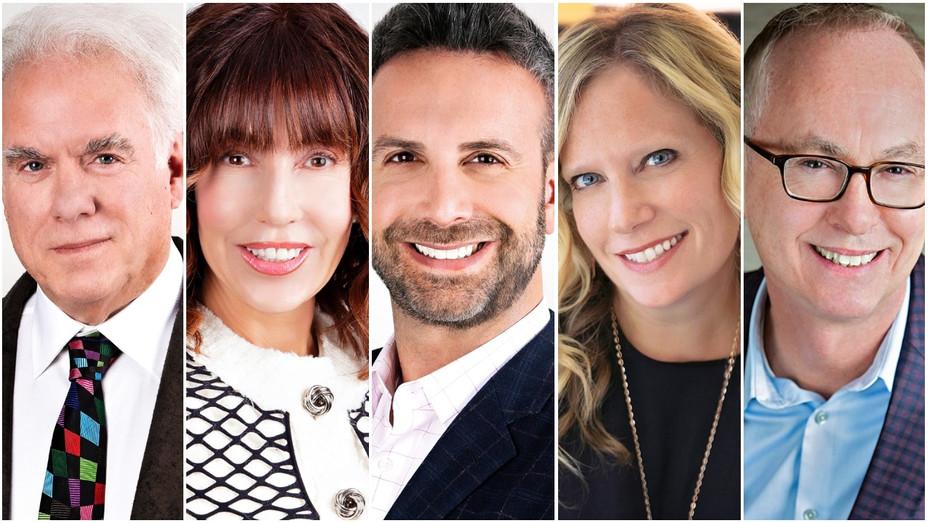 Jeff Witjas, Steve Fisher, Sheryl Peterson, Mike Goldberg, Julia Johnson Split - Publicity - H 2020