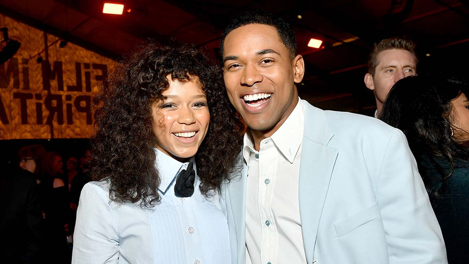 Taylor Russell and Kelvin Harrison Jr. - Getty - H 2020