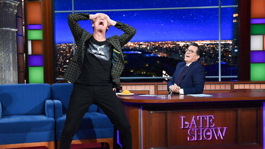 The Late Show with Stephen Colbert_Jim Carrey - Getty - H 2020