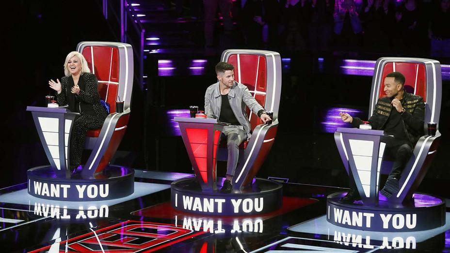 THE VOICE - Blind Auditions Episode 1801 -Kelly Clarkson, Nick Jonas, John Legend -H 2020
