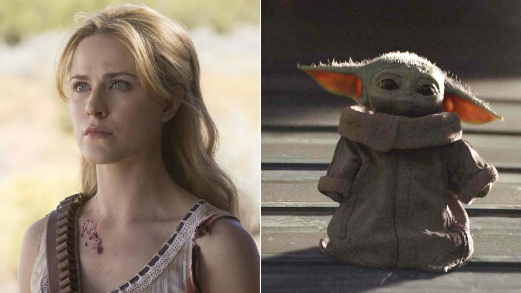 Westworld' Season 3 Trailer Drops, Baby Yoda Animatronic Toy Hitting  Shelves & More | THR News