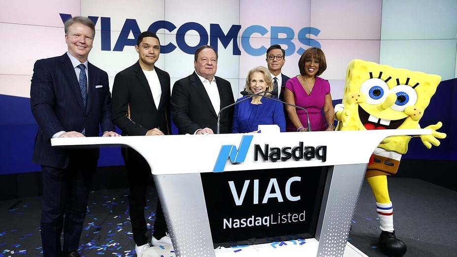 ViacomCBS Inc. Rings Nasdaq Opening Bell - Getty - H 2020