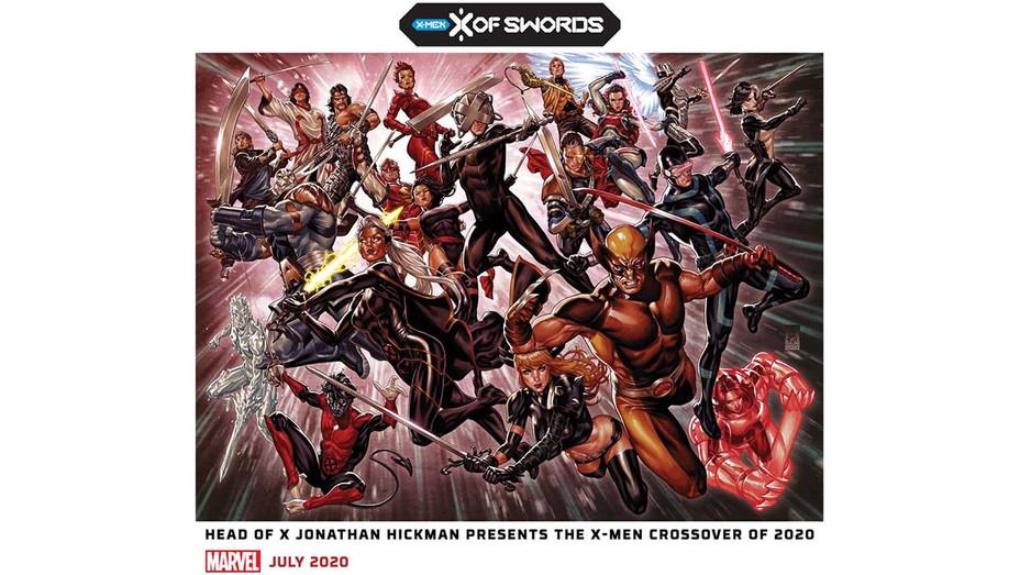 X-Men X of Swords Promo-Mark Brooks/Marvel Entertainment- Publicity-H 2020