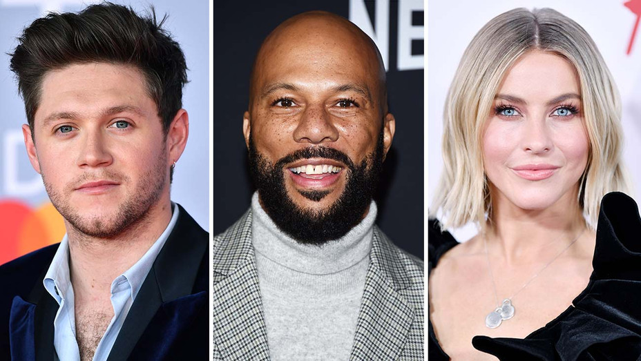 Niall Horan, Common and Julianne Hough- Getty-Split-h 2020