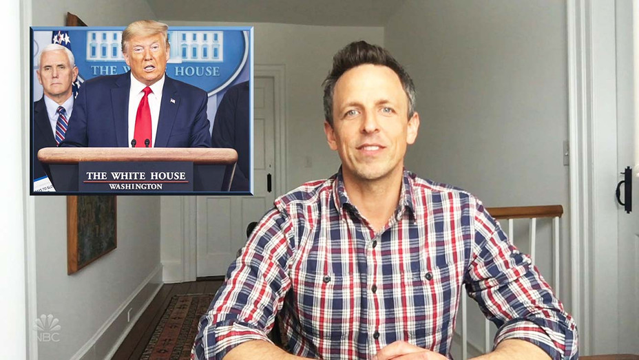 Seth Meyers - Late Night NBC from his house - NBC Publicity_H 2020