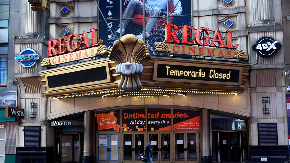 A view of the Regal Loews Cinemas movie theater - Getty - H 2020