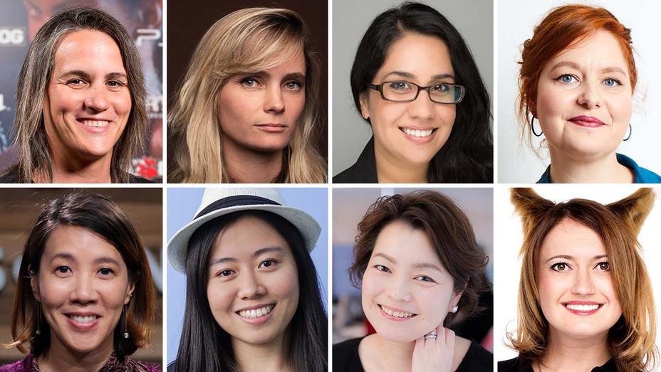 Almudena Soria, Halley Gross, Laila Shabir, Siobhan Reddy, Jacinda Chew, Jing Li, Mena Soto,Lerika Mallayeva_Split - Publicity - H 2020