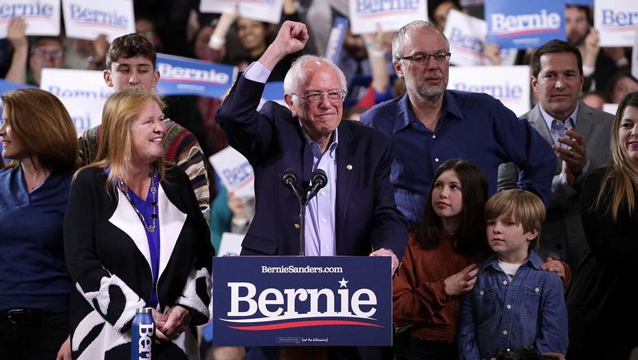 Bernie Sanders_Speech Vermont - Getty - H 2020
