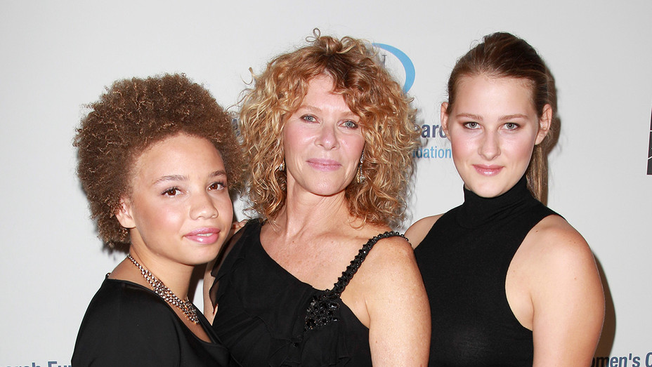 Mikaela Spielberg, Kate Capshaw and Destry Spielberg in 2013 - H Getty 2020