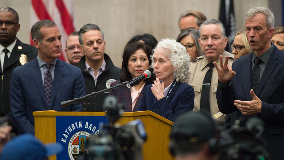 Los Angeles County - Press Conference- Public Health Director Barbara Ferrer -Publicity Board of Supervisors-  H 2020
