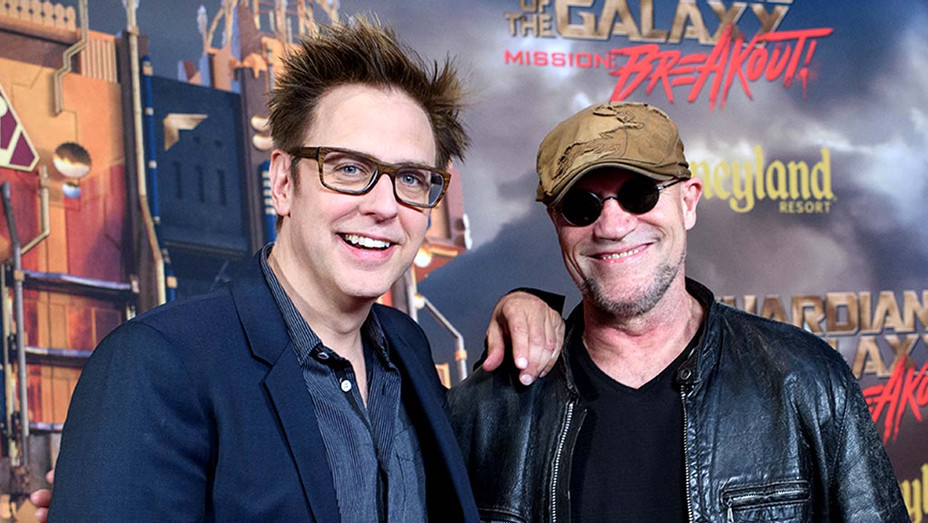 director James Gunn and actor Michael Rooker - Getty - H 2020
