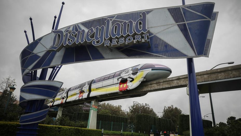 Disneyland March 13, 2020