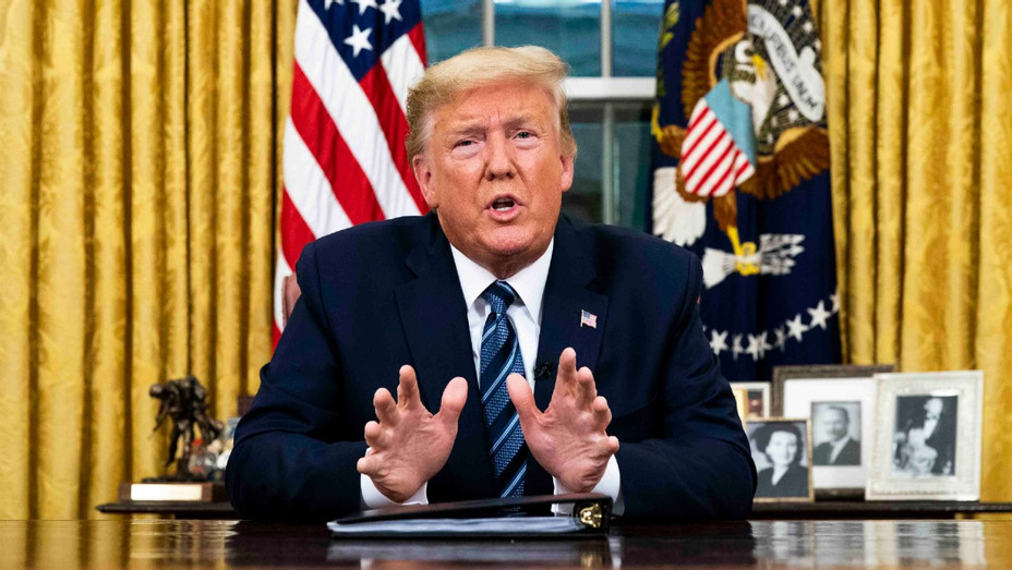 U.S. President Donald Trump addresses nation on coronavirus