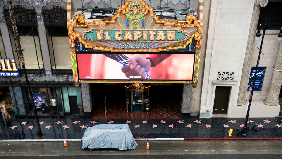 El Capitan Theatre March 13 2020