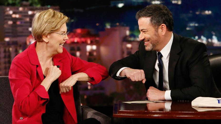 Elizabeth Warren Jimmy Kimmel - Publicity - H 2020