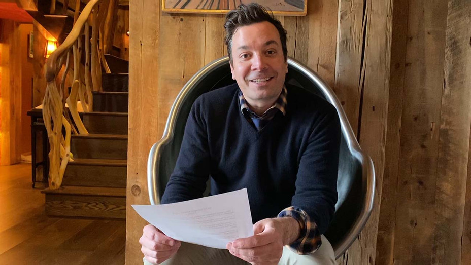 Jimmy Fallon on The Tonight Show NBC - Late Night-Publicity March 25- H 2020
