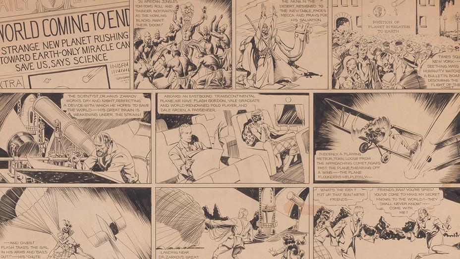Flash Gordon art - Publicity - H 2020