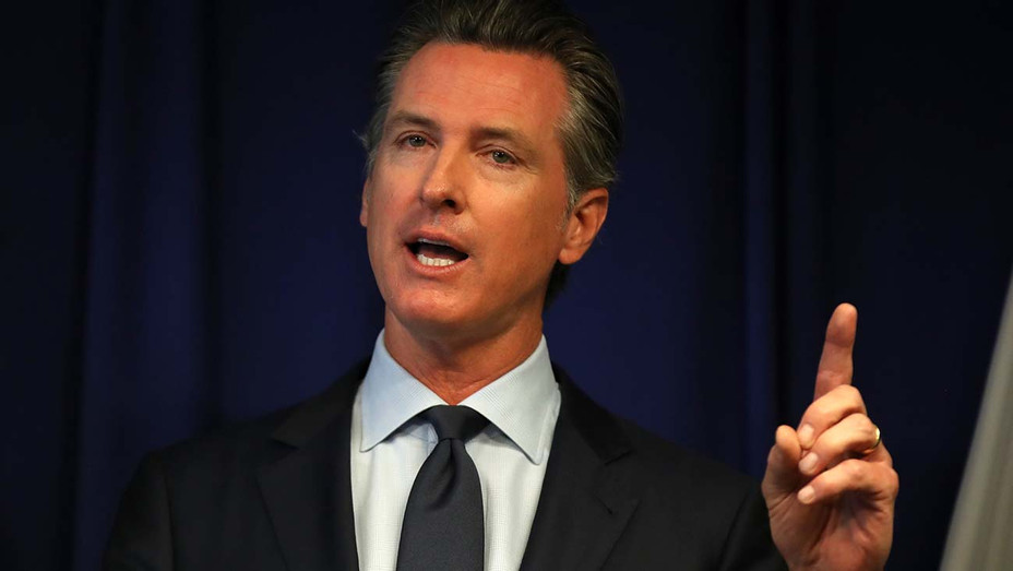 Gavin Newsom speaks during a news conference  September 18, 2019 in Sacramento- Getty-H 2020
