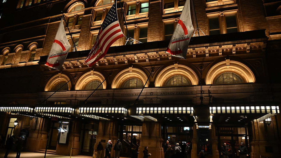 Carnegie Hall at 57th Street and 7th Avenue January 16, 2020 -Night - Getty -H 2020