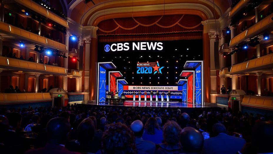 2020 presidential campaign season - CBS News -Gaillard Center in Charleston-Getty-H 2020