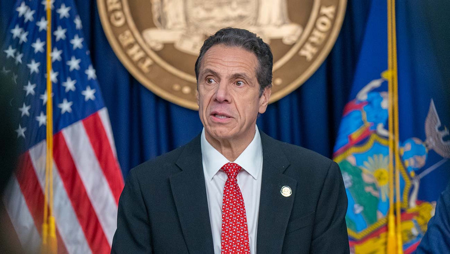 Andrew Cuomo speaks during a news conference March 2, 2020 in New York City - Getty 1- H 2020
