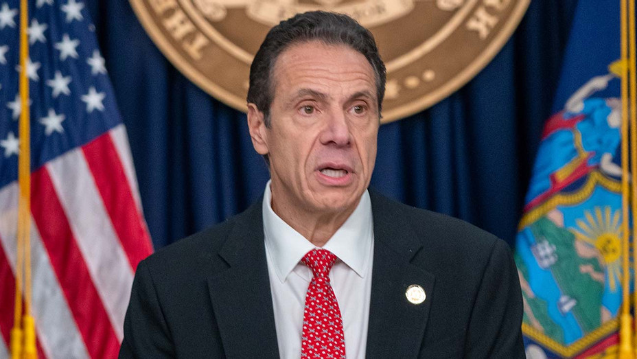 Andrew Cuomo speaks during a news conference March 2, 2020 in New York City - Getty 2 - H 2020