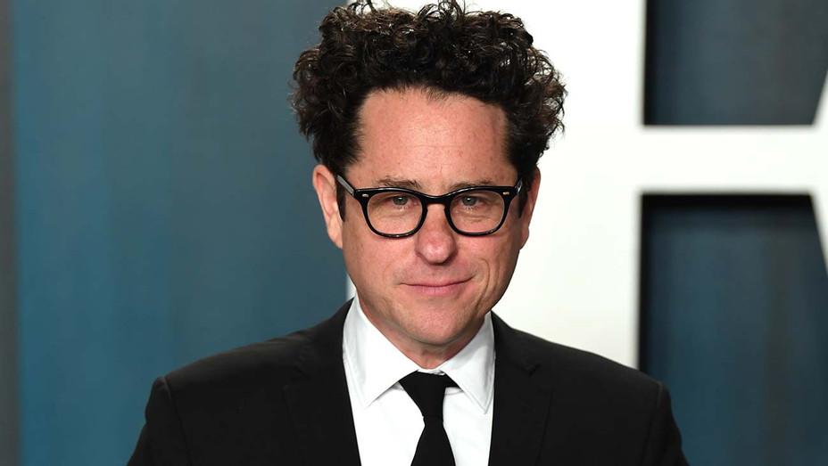 J.J. Abrams arriving for the 2020 Vanity Fair Oscar Party - Getty -H 2020