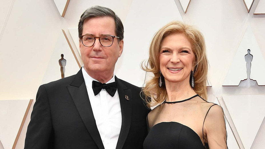 David Rubin and Dawn Hudson attend the 92nd Annual Academy Awards - Getty -H 2020