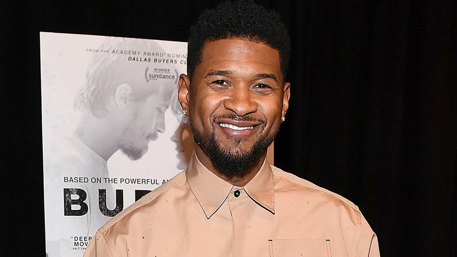 Usher Raymond IV attends the Burden Atlanta Red Carpet Screening March 02, 2020 - Getty-H 2020