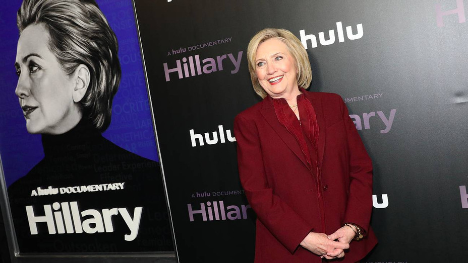 Hillary Clinton at 'Hillary' NYC premiere - H Getty 2020