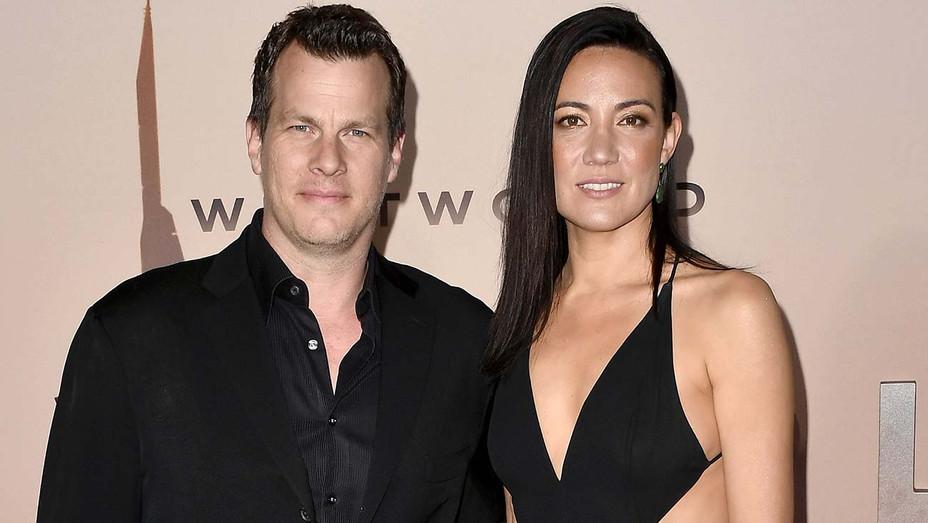 Jonathan Nolan and Lisa Joy attend the Westworld Season 3  Premiere - Getty-H 2020