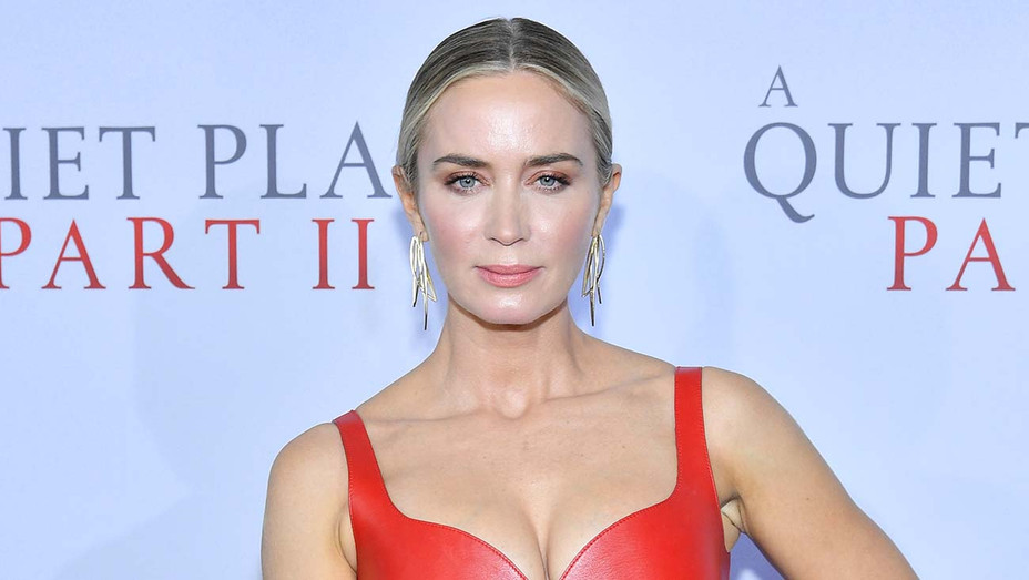 """Emily Blunt attends the World Premiere of """"A Quiet Place Part II"""" - Getty -H 2020"""