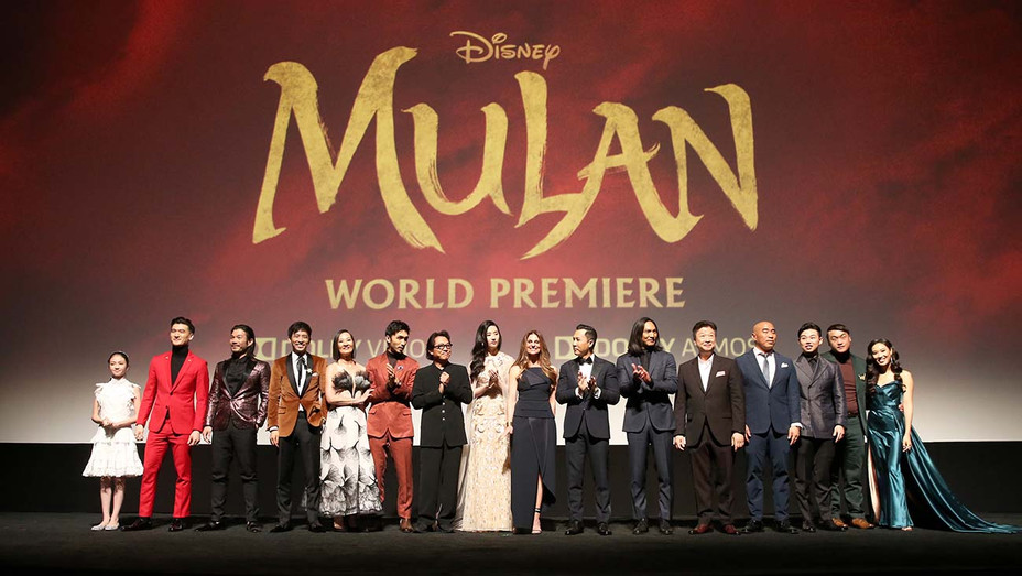 World Premiere of Disney's 'MULAN' at the Dolby Theatre on March 09, 2020 - Getty-H 2020