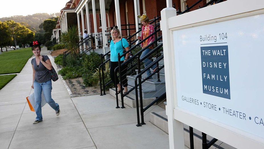 The Walt Disney Family Museum - located in the Presidio of San Francisco- Getty-H 2020