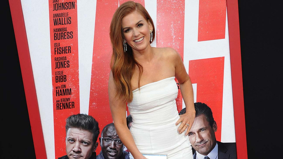 """Isla Fisher arrives for the Premiere Of  """"Tag"""" - Getty-H 2020"""