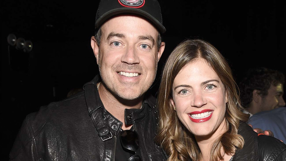 Carson Daly and Siri Pinter attend SiriusXM's private concert -Getty-H 2020