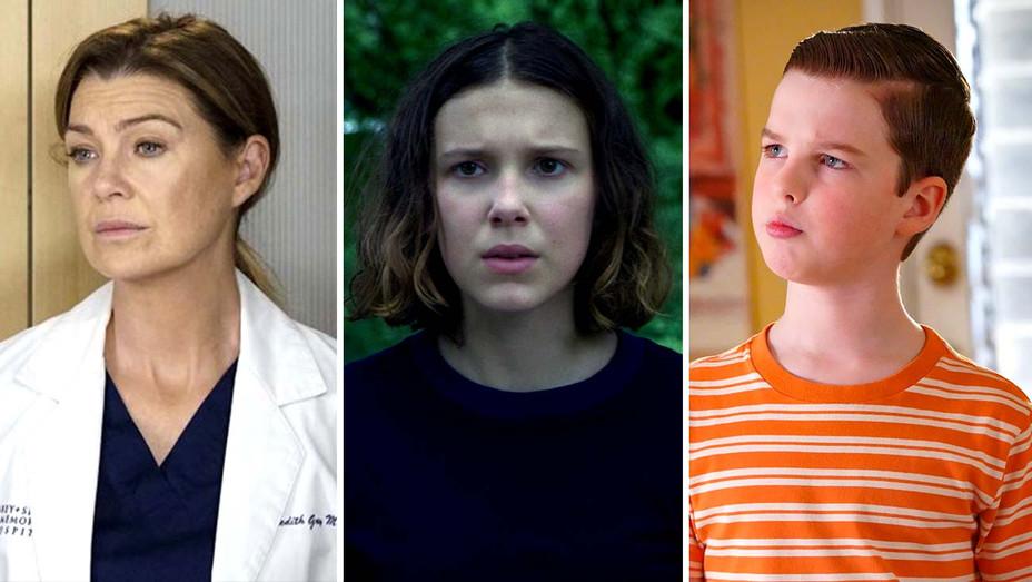 Grey's Anatomy - Stranger Things - Young Sheldon - sad- Publicity Stills - Split - H 2020