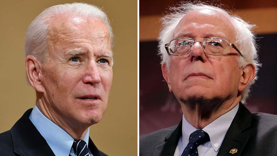 Joe Biden - Bernie Sanders - Getty - Split -H 2020