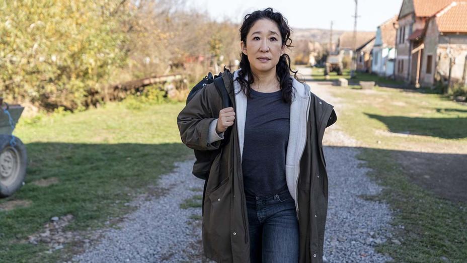 Killing Eve _ Season 3 - Sandra Oh as Eve Polastri - BBC America Publicity-H 2020